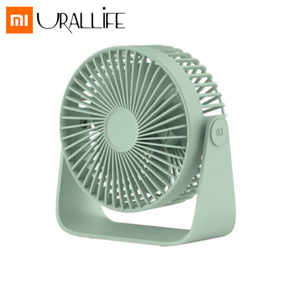 Xiaomi Sothing Mini Fan Portable USB Fan Double Leaf Desktop Fan Protable Aromatherapy Ultra Quiet Summer Cooler 360 Degrees 3rd Wind Speed Gear Adjustable For Home Office