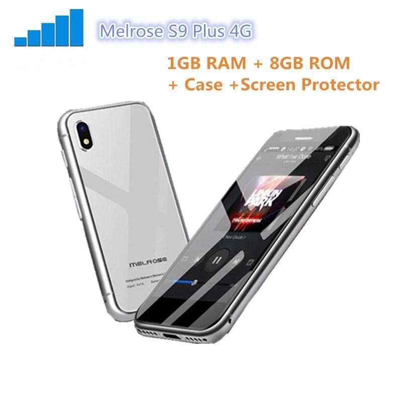 Melrose S9 Plus 4G Mini Smart Telepon Mini 2.45 Inch Android 7.0 MTK6737 Quad Core 1.5G Hz 1 GB RAM 8 GB ROM 5.0MP + 0.3MP Kamera Gratis Case dan Film