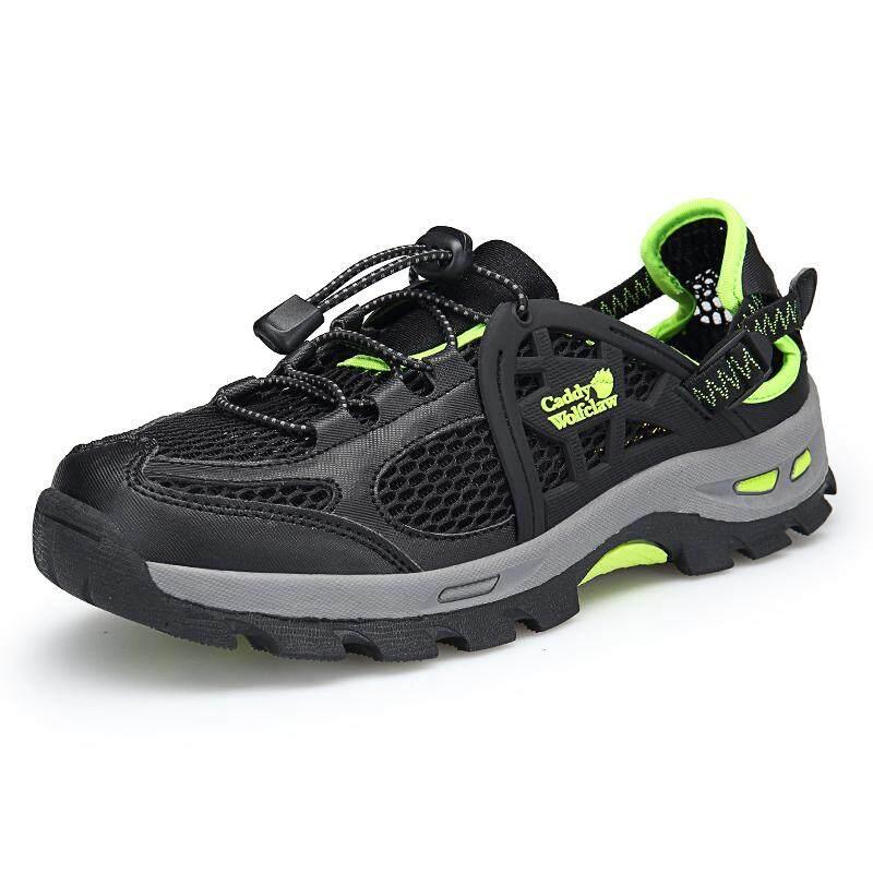 Bernapas Mesh Non-Slip Tebal Rok Bawahan Tahan Sepatu Mendaki Hollow Kenyamanan Sepatu Olahraga Luar Ruangan By Cat.