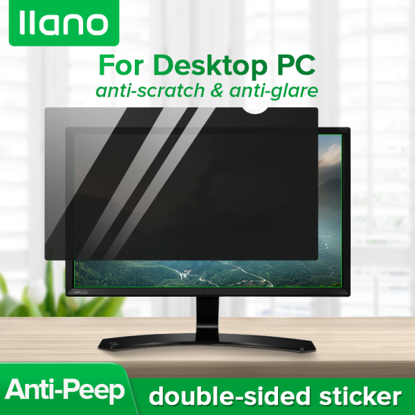 llano Laptop Privacy Screen Protector Anti Glare Monitor Privacy Protection Film for 12-16.1 Inch Laptop