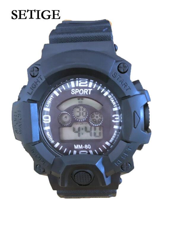 Nơi bán Đồng hồ đeo tay setige cho trẻ em, đồng hồ kỹ thuật số có đèn LED báo thức ngày thể thao chất lượng điện tử chống thấm nước cho học sinh trẻ em bé trai/bé gái