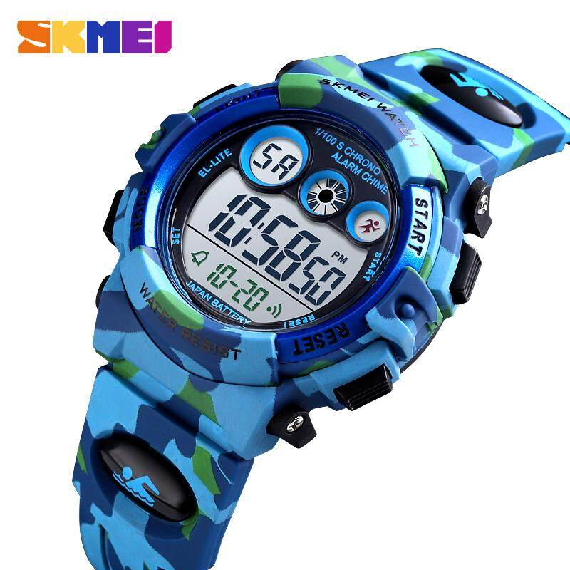 SKMEI Sport Children Watch Waterproof LED Digital Watches Multifunction Sports Electronic Watch for Kids Boys Girls Gifts 1547 Malaysia