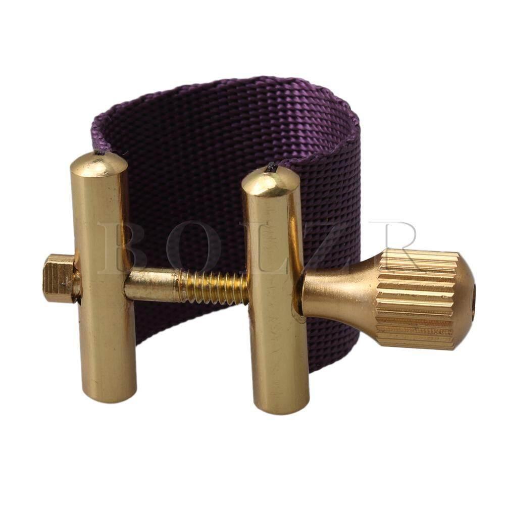 6.6X2.56 Cm Soprano Pengikat Saksofon untuk Bakelite Sax Mouthpiece Spare Ungu