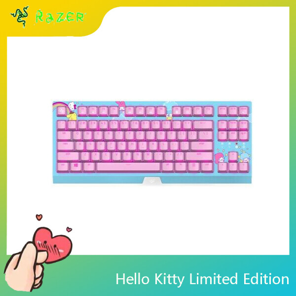 Razer Hello Kitty Limited Edition Original Wired Gaming Keyboard Mechanical Keyboard For PC Laptop Computer Singapore