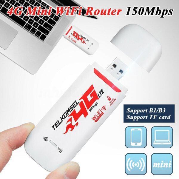 Bảng giá Bộ Định Tuyến WIFI Di Động 4G/3G LTE Cho Xe Hơi Hotspot Dongle USB Không Dây 150Mbps, Di Động Băng Thông Rộng Modem SIM Thẻ Mở Khóa Phong Vũ