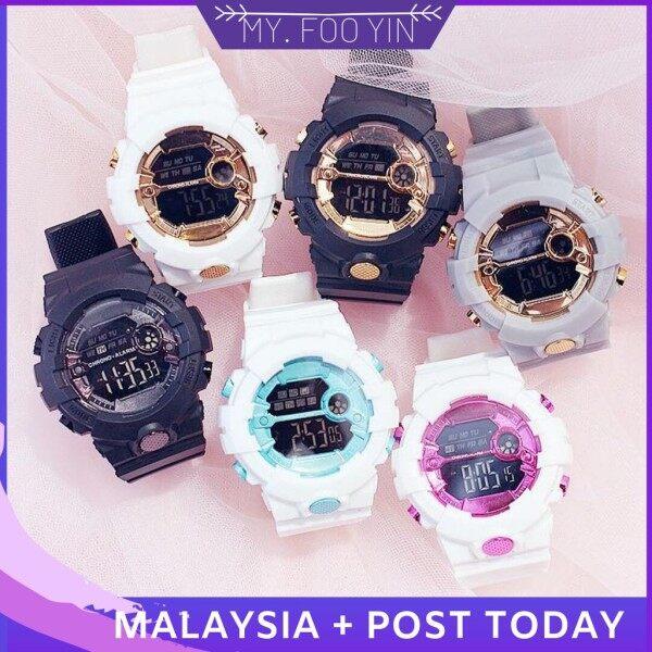 Ready Stock Myfooyin watch jam Man Women Watch Baby Aosun Jam Tangan Wanita Lelaki Malaysia