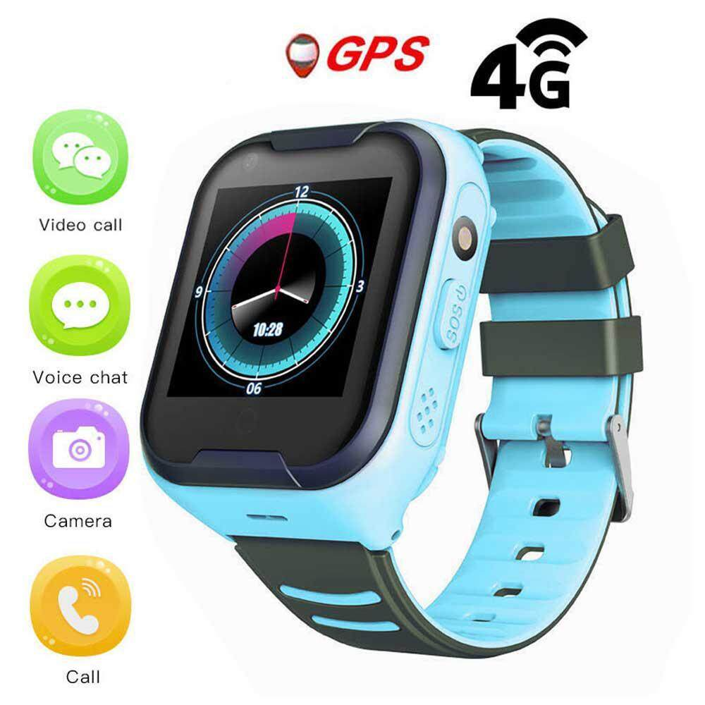 Aolvo Kids Smart Watch 4G WIFI Video Phone Watch Waterproof GPS Positioning One-Click SOS Function