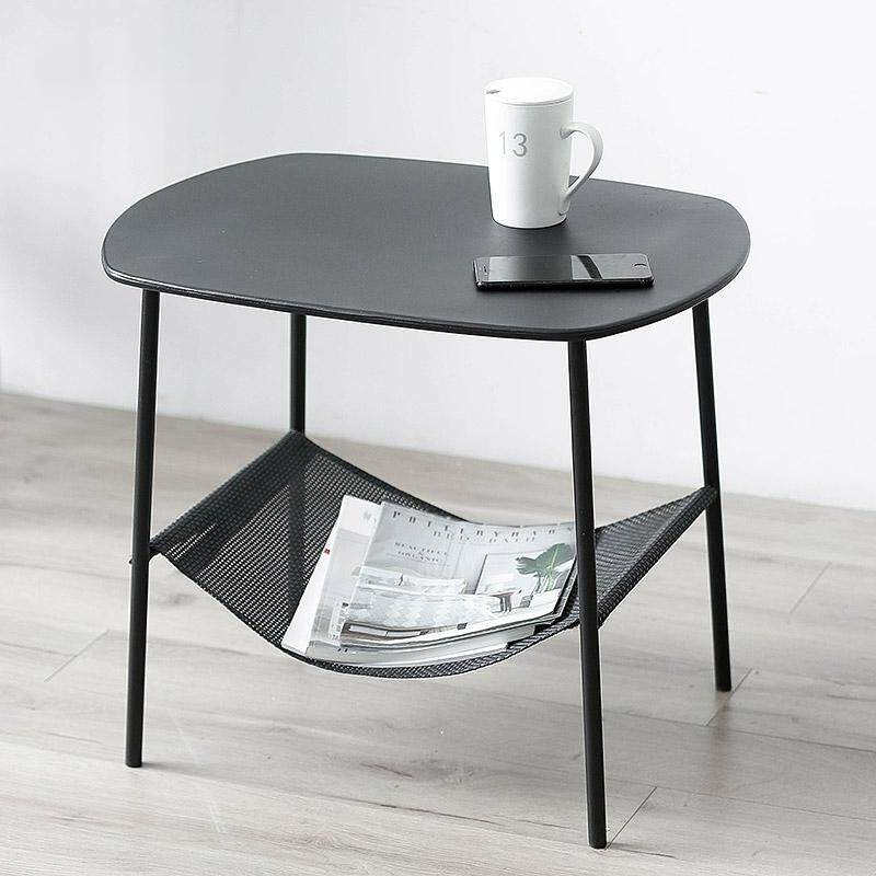 Coffee Table Iron Black Table End Table For Living Room By Olive Al Home