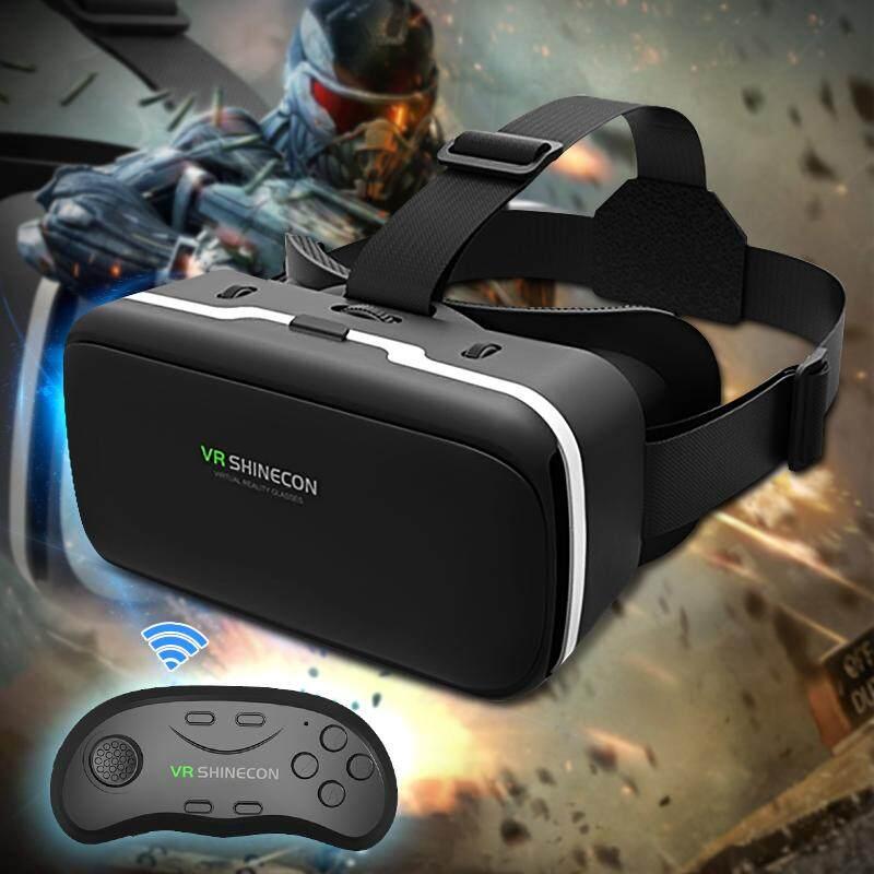 Giá 3D VR Kính Thực Tế Ảo Tai Nghe Khổng Lồ Màn Hình 90-100 Độ Hình Ảnh Góc Rộng Cho 4.7-6 Inch điện Thoại Di Động