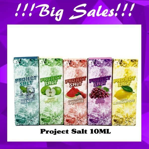 Premium e-liquid vape e juice for Pod Project Freeze salt (6 Flavours) Grape Dew Blueberry Lemonade Mint Green Apple Watermelon 10ml Malaysia