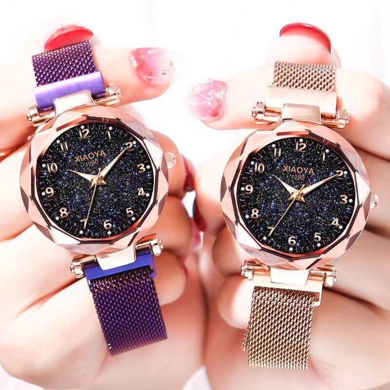 Wintin Luxury Women Watches Ladies Magnetic Starry Sky Clock Fashion Diamond Female Quartz Wristwatches watch for woman Malaysia