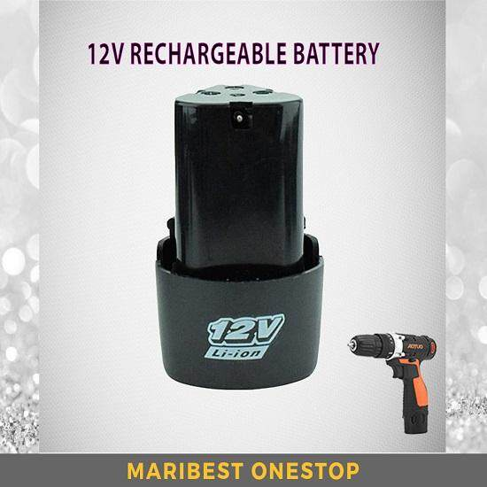 (Ready Stock) 1 Pcs / 2 Pcs 12V Strong SONCO Rechargable Lithium Battery Extra Power for Cordless Drill