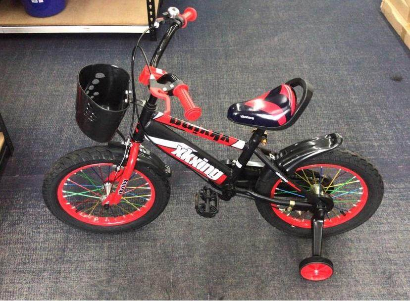 e43548fd70b (OW) XKXing 16 Inch DIY Kids Bicycle With Training Wheel- 80 x 115