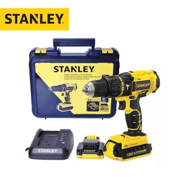 STANLEY 18V Li-Ion Brushless 13mm Cordless Drill Driver SBD201D2K-B1
