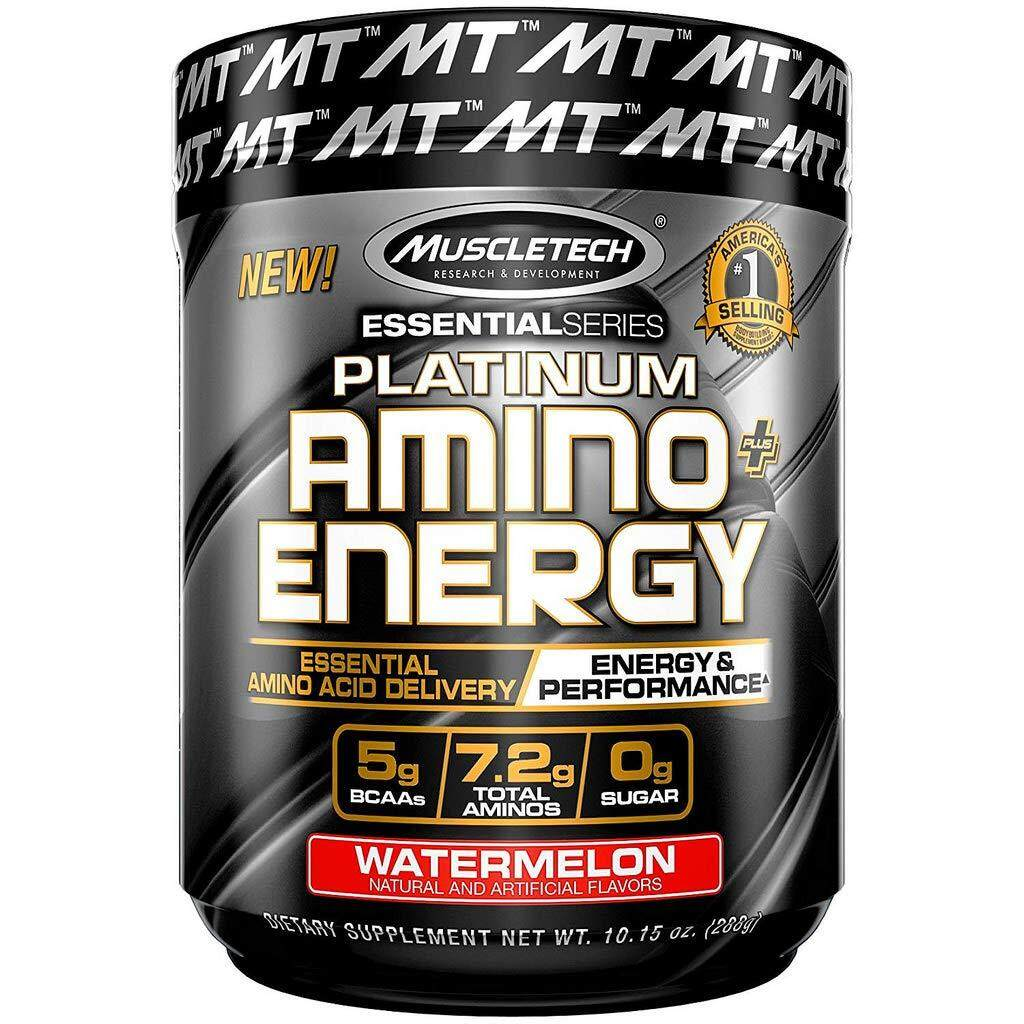 Muscletech Platinum Amino Plus Energy, Watermelon (30 Servings / 288 g)