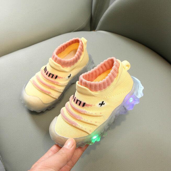 Giày Trẻ Em, Giày Thể Thao Bé Trai Bé Gái Trẻ Em Giày Thể Thao Phát Sáng Đèn Led Lấp Lánh giá rẻ