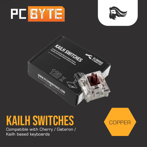 GLORIOUS KAILH Copper Switches (120PCS) Malaysia