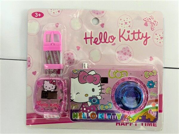 Kids Watch -Hello Kitty Watch With Toy Camera 3+ Ages Malaysia