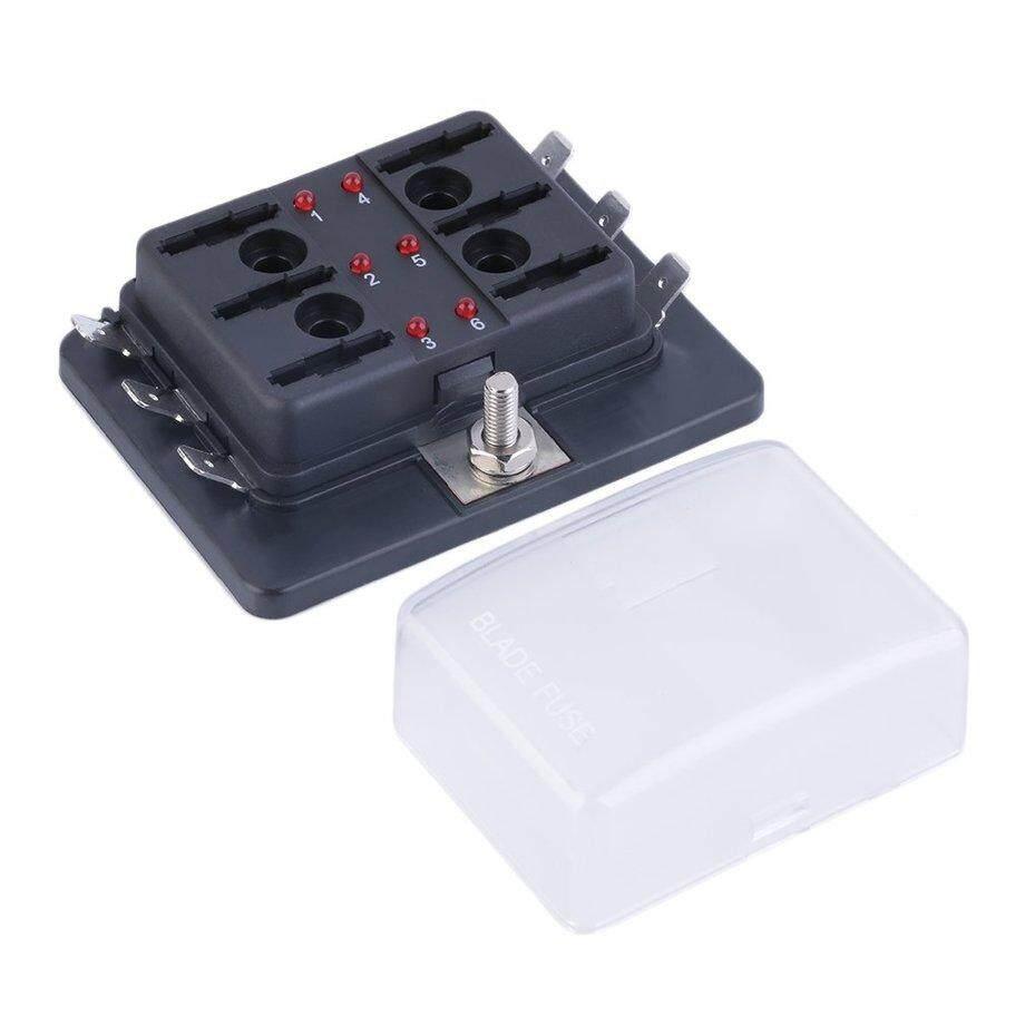 Top Jual 4/6/10 Cara Sirkuit Mobil Otomotif ATC Sekering Ato Kotak untuk Tengah Ukuran Pisau