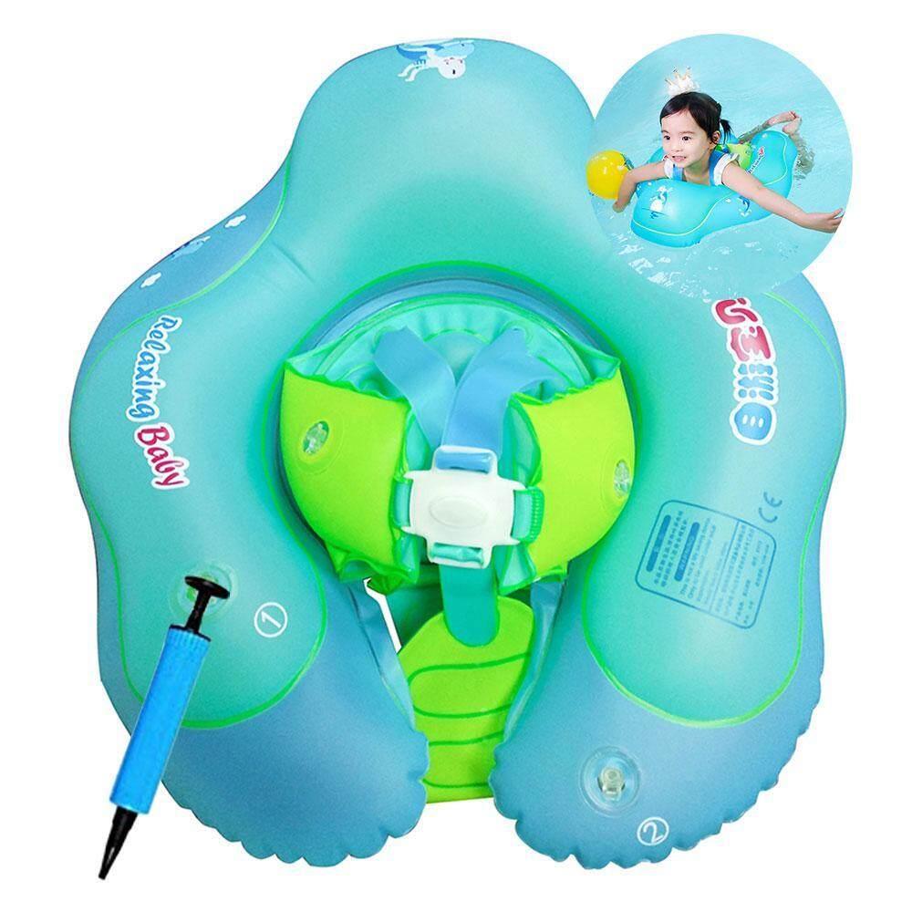 Outflety เด็กโซฟาลอยน้ำแบบสูบลมที่นั่ง, ทารกแรกเกิดของเล่นสระว่ายน้ำ, ปรับห่วงยางว่ายน้ำสำหรับเด็กทารกเด็ก (รวมคู่มือ Inflator) By Outflety.