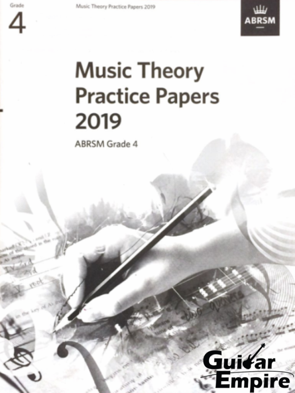 ABRSM Music Theory Practice Papers 2019 Grade 4 Malaysia