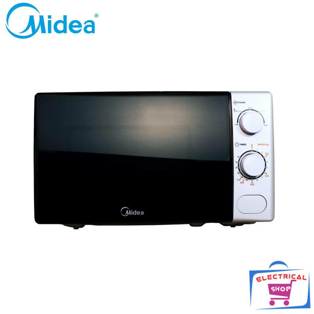 Midea Microwave Mm720cxm 20l Microwave Oven (white) By Electrical Shop.