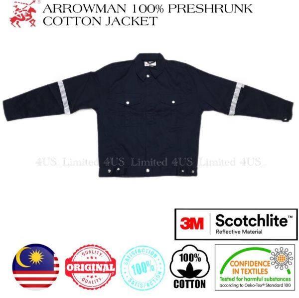 Arrowman 100% Preshrunk Cotton Navy Blue Safety Jacket