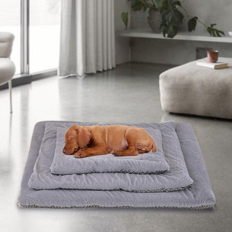 S/M/L Pet Bed Mat Mùa Đông Dày Ấm Mèo Dog Pad Hai Mặt Có Sẵn Puppy Kitten Đệm Sofa Thảm
