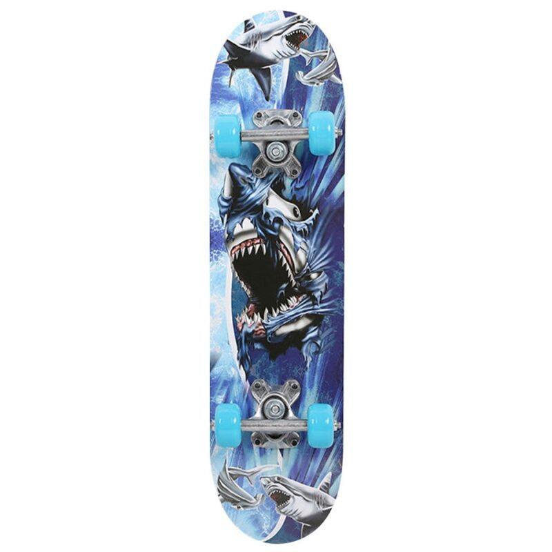 Giá bán 3 Phong Cách Sàn Ván Trượt Ván Trượt Longboard Longboard Completerocker Skateboard Xe Tay Ga Bốn Bánh Ban Đối Với Trẻ Em Thanh Thiếu Niên