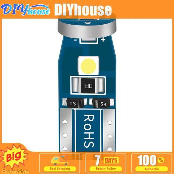 10 Bóng Đèn LED T10 Cho Xe Hơi, Bóng Đèn Nêm Tự Động Xả Hàng Siêu Sáng 3030 3SMD 12V