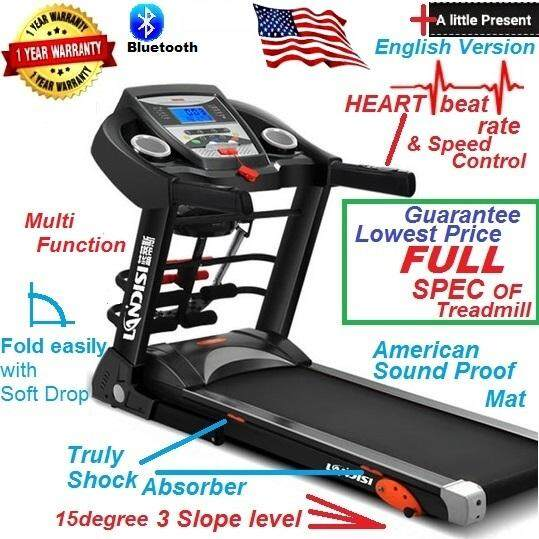 Highest Spec Fully Equipped Treadmill Running Exercise Machine At Lowest Price By Enghongexport.