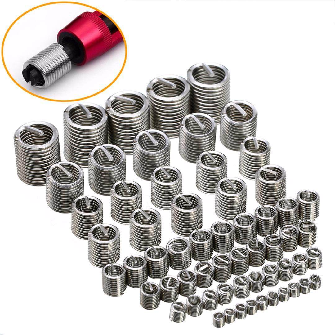60pcs/set New Stainless Steel Thread Repair Insert Kit M3 M4 M5 M6 M8 M10 M12
