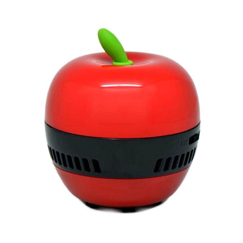 ERA แอปเปิ้ลมินิ - shaped Desktop กาแฟตารางเครื่องดูดฝุ่นแปรงเก็บฝุ่นสำหรับ Home Office แป้นพิมพ์แบบใช้มือถือเครื่องดูดฝุ่นทำความสะอาดกวาด