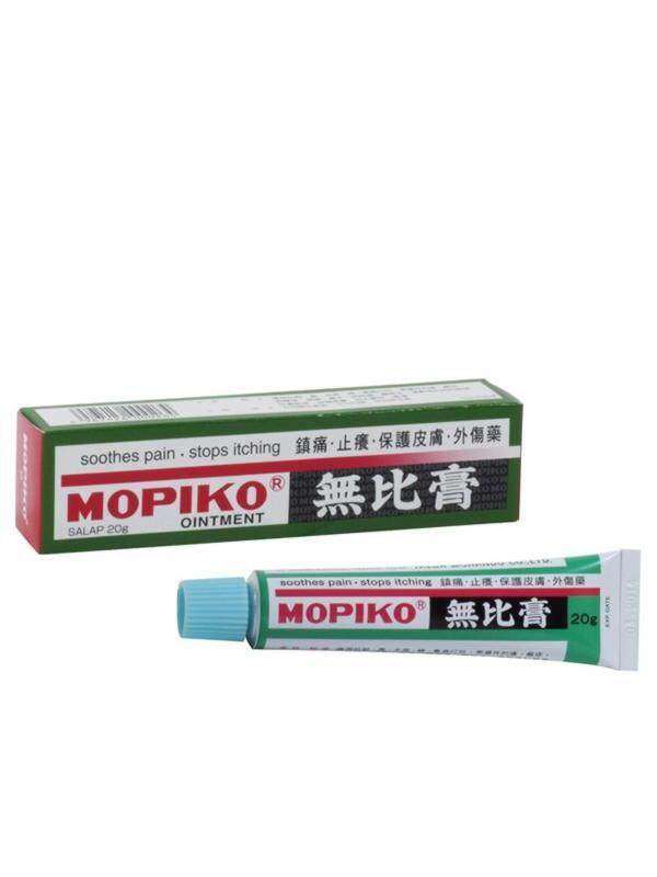 Mopiko Ointment 20g 无比膏 (ubat Nyamok / Serangga Mopiko) By Cheng Woh Medical Hall.