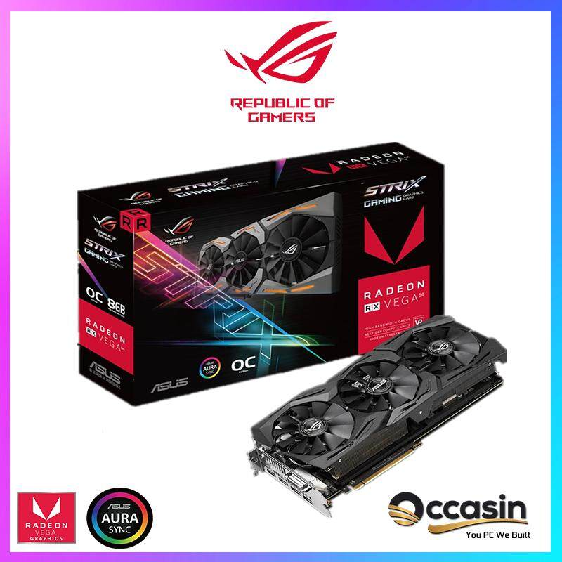 ROG Strix RX VEGA64 OC Edition 8GB HBM2