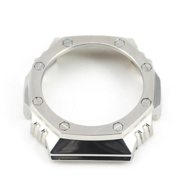 Band for GA2100 Custom G Shock Casios Bezel Case Silver Watch Set 100% Metal 316L Stainless Steel For GA-2100 Watchbands Malaysia