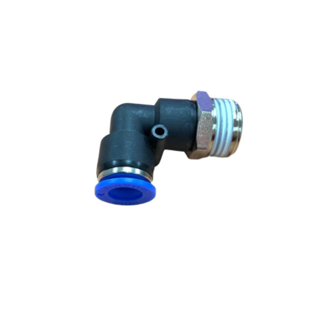 Pl10-04 10mm X 1/2 Male Elbow Pneumatic Air Push In Quick Fittings By Hong Sheng Store.