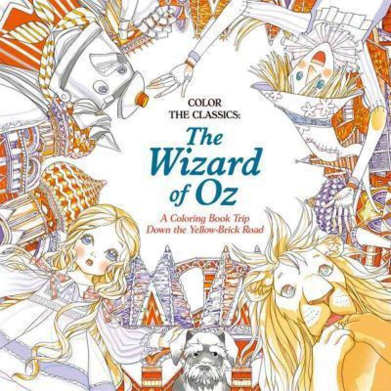 Color The Classics: The Wizard Of Oz Malaysia