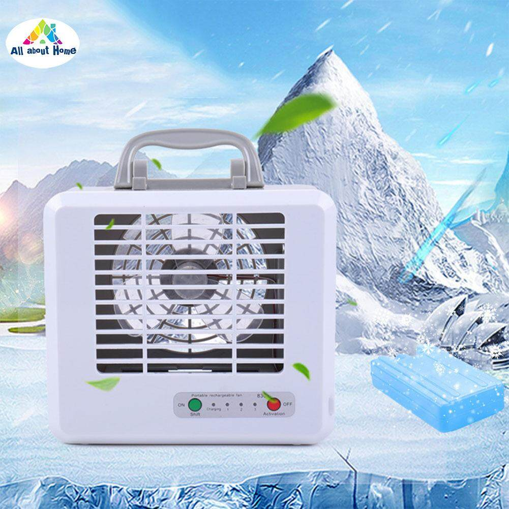 ABH Portable Mini USB Air Conditioner Cooling Mute Air Cooler Fan  Humidifier for Home Office
