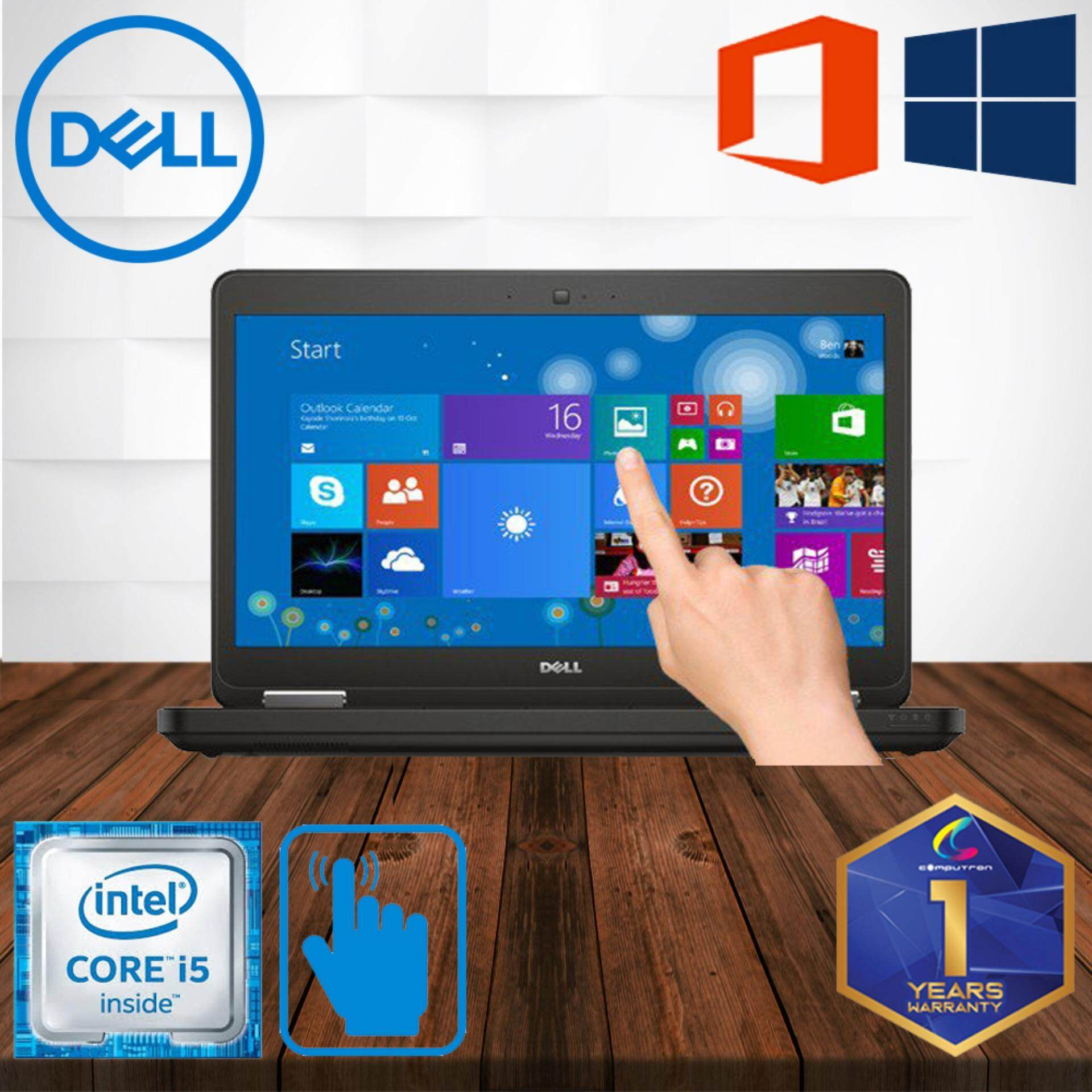 DELL LATITUDE E5440 TOUCHSCREEN [ CORE I5 HASWELL / 4GB DDR3 RAM/ 500GB HDD / WINDOWS 10 PRO ] 1 YEAR WARRANTY [ LAPTOP ] Malaysia