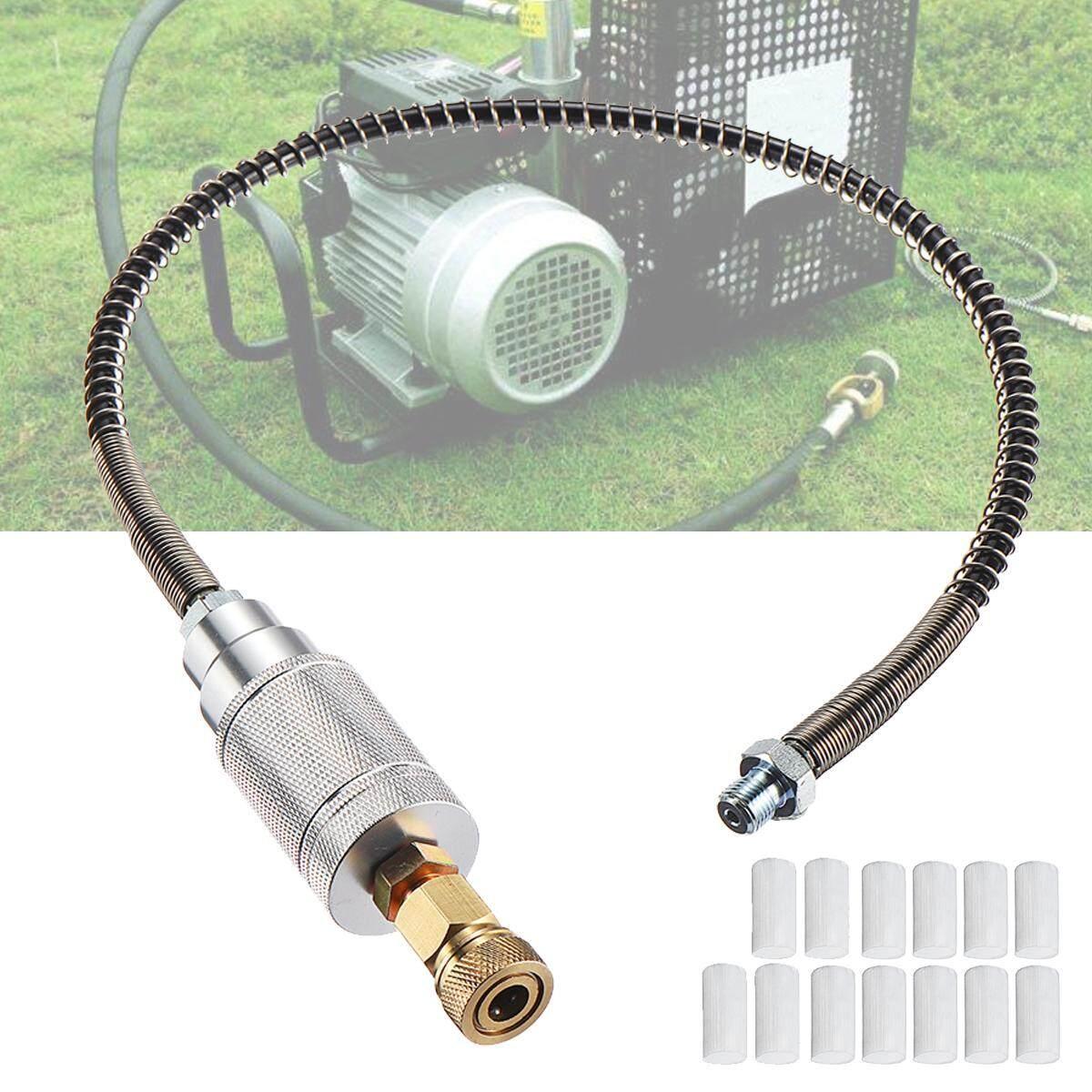High Pressure 40Mpa Oil-water Separator Filter Core Hose M8 +13PC Cotton Filter