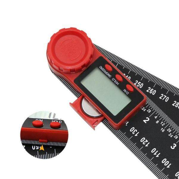 2in1 Digital Protractor Angle Finder Ruler Crown Trim Woodworking 7  200mm