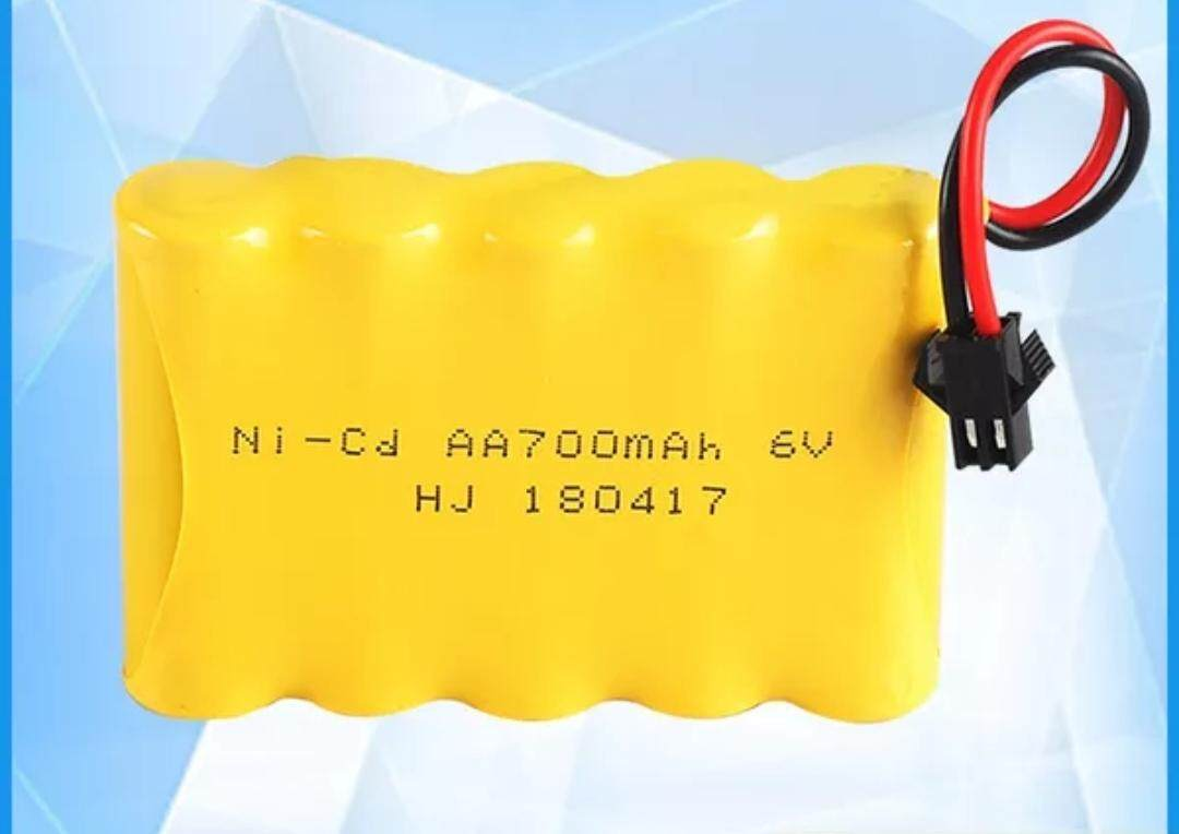 [msia Stock] Battery Rechargeable 6v 700mah By Online4u.