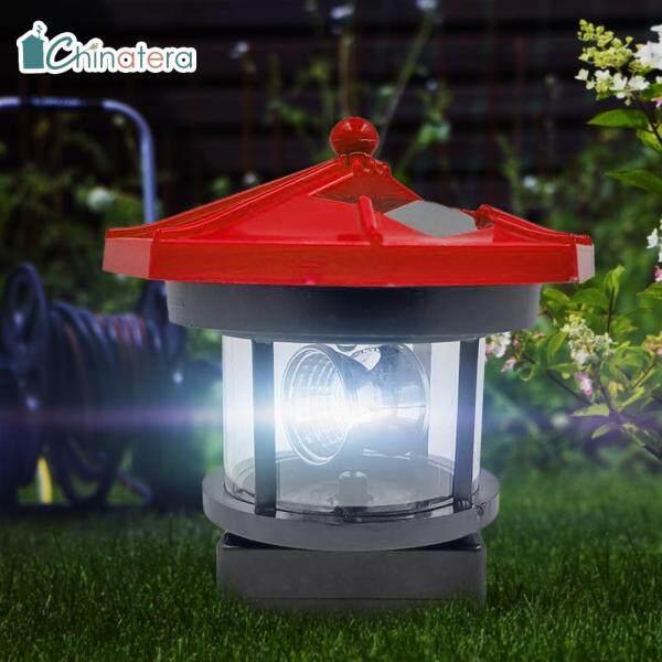 Đèn LED Chinatera Hình Ngọn Hải Đăng, Đèn Chùm Xoay Thông Minh, Dùng Trang Trí Ngoài Trời, Sân Vườn, Hàng Rào