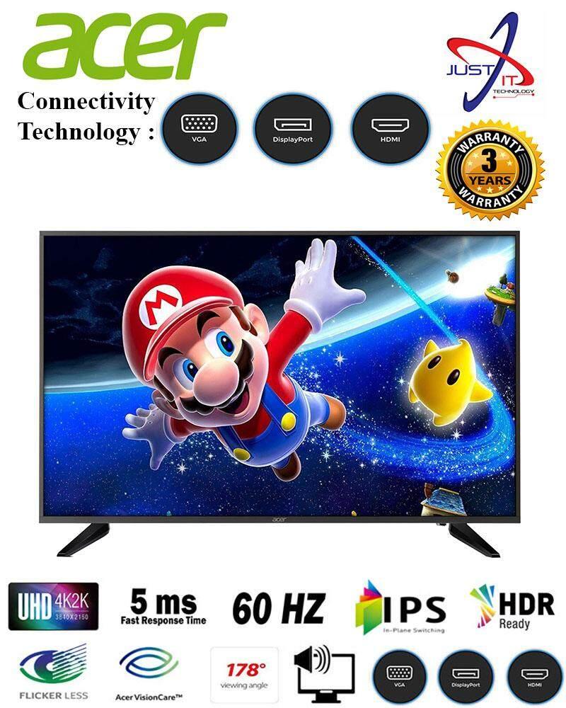ACER DM431K 43 IPS HDR 4K LED LCD MONITOR - DM431KBMII Malaysia
