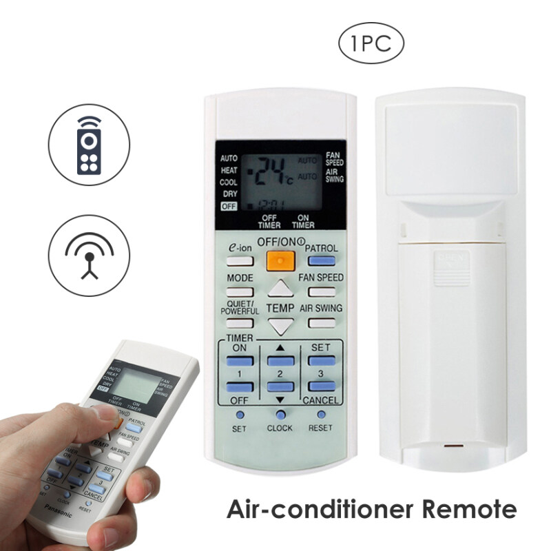 UZBOO Air Conditioner Remote Control AT75C3298 Wireless Remote Timing Adjustable English 8M Use Distance Universal without Set up