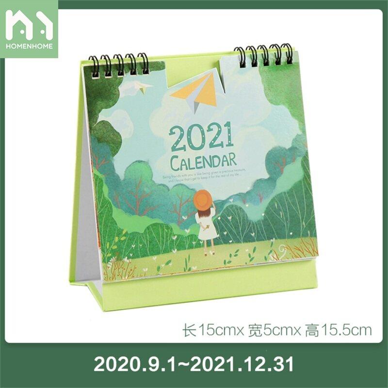Lịch Để Bàn Homenhome 2021 Đồ Trang Trí Để Bàn Ngày Lễ Kế Hoạch Văn Phòng Mini Sáng Tạo, Hằng Tháng Vĩnh Cửu