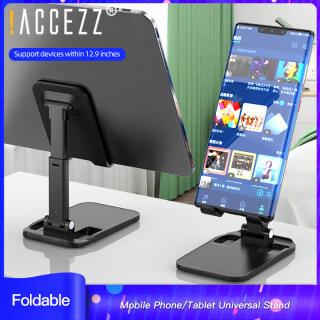 ACCEZZ Giá Đỡ Điện Thoại Đa Năng Giá Đỡ Máy Tính Để Bàn Lười Phát Sóng Trực Tiếp Cho IPhone 11 Pro Vivo Oppo Samsung Huawei Redmi 6, Thiết Bị Nâng IPad, Có Thể Điều Chỉnh, Gập Lại Được thumbnail