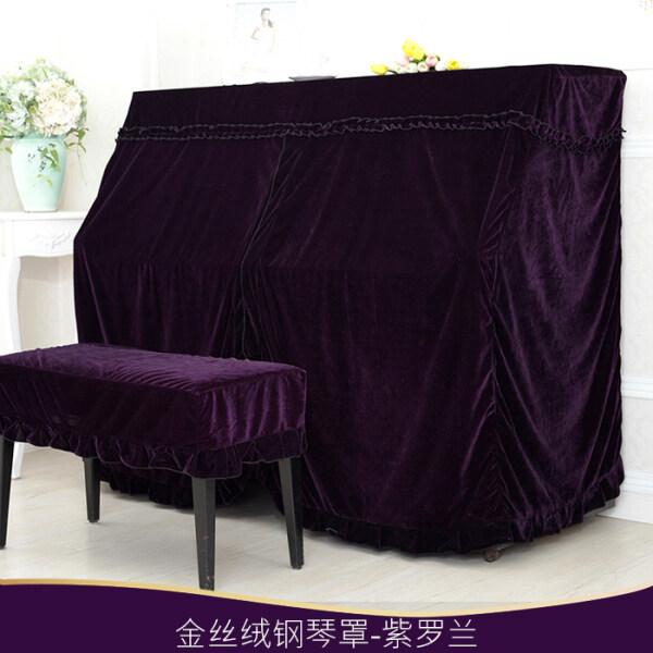 Spot  Full cover cloth art more European piano cover velvet cloth cover dust cover piano half Han Guoqin jean put Malaysia