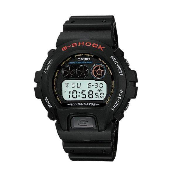 [100% Original G SHOCK][hot] Casio G-Shock Standard Digital Black Resin Watch DW6900-1V DW-6900-1V (watch for man / jam tangan lelaki / casio watch for men / casio watch / men watch / watch for men) Malaysia